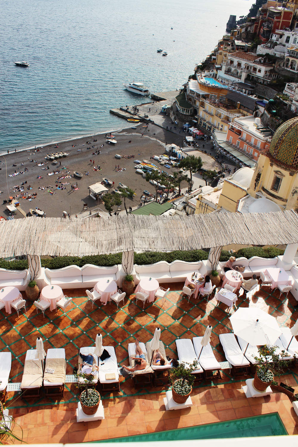 le sirènuse hotels positano italy pool view beach