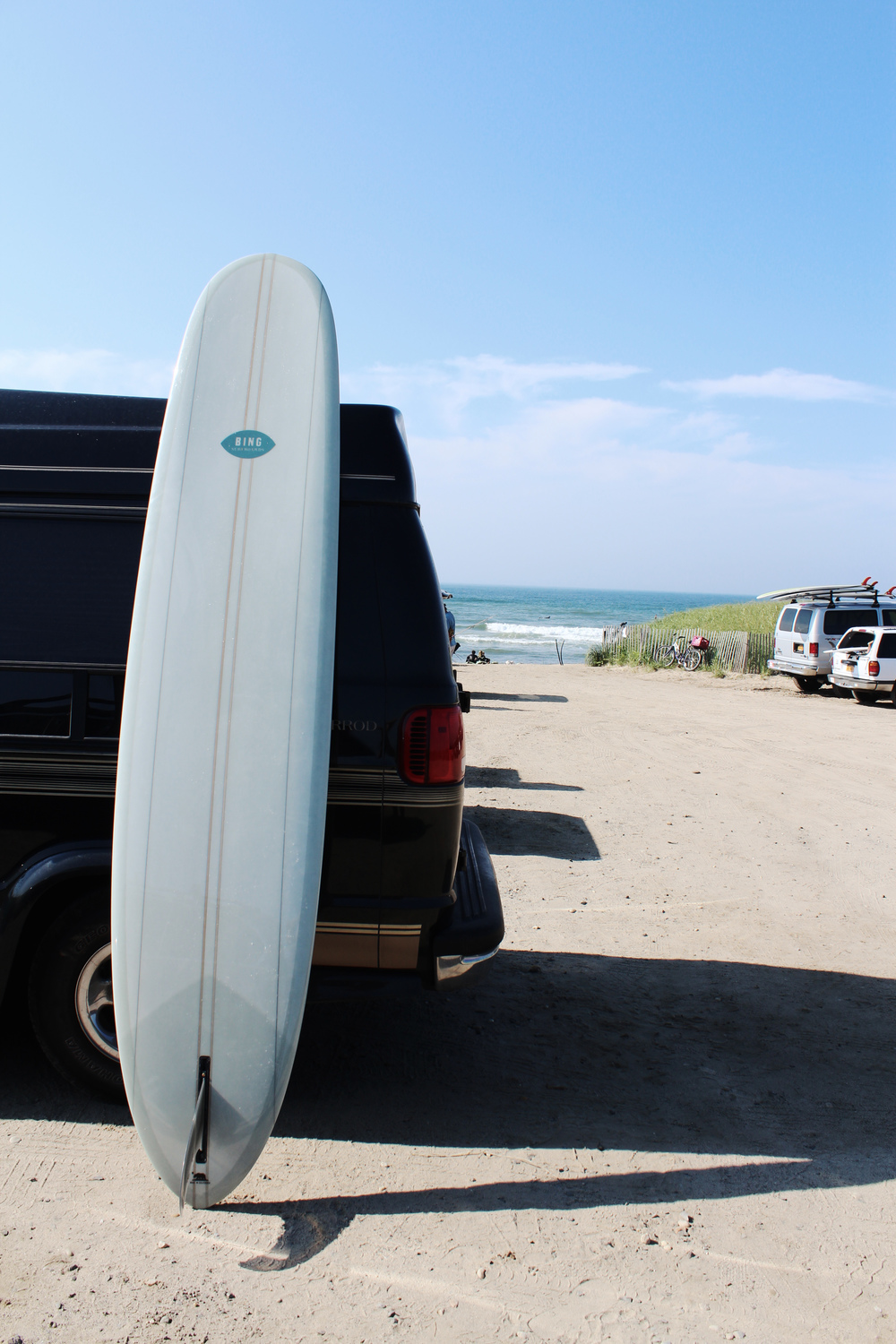 wave provocateur van surfing montauk ditch plains