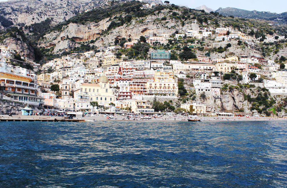 positano view travel italy wave provocateur