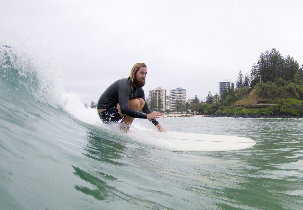 mitch mccann surfing coolangatta gold coast australia