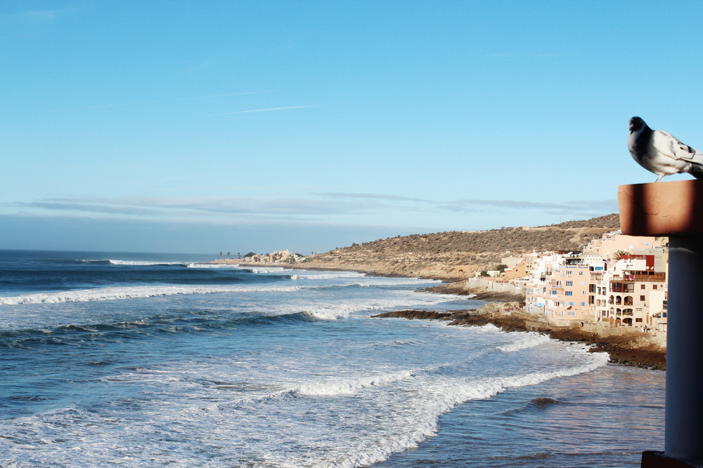 taghazout surf town morocco