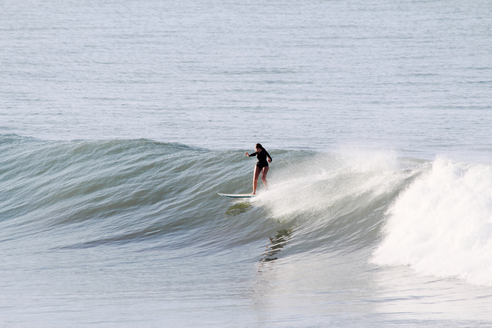 bree warren surfing banana point morocco taghazout waves