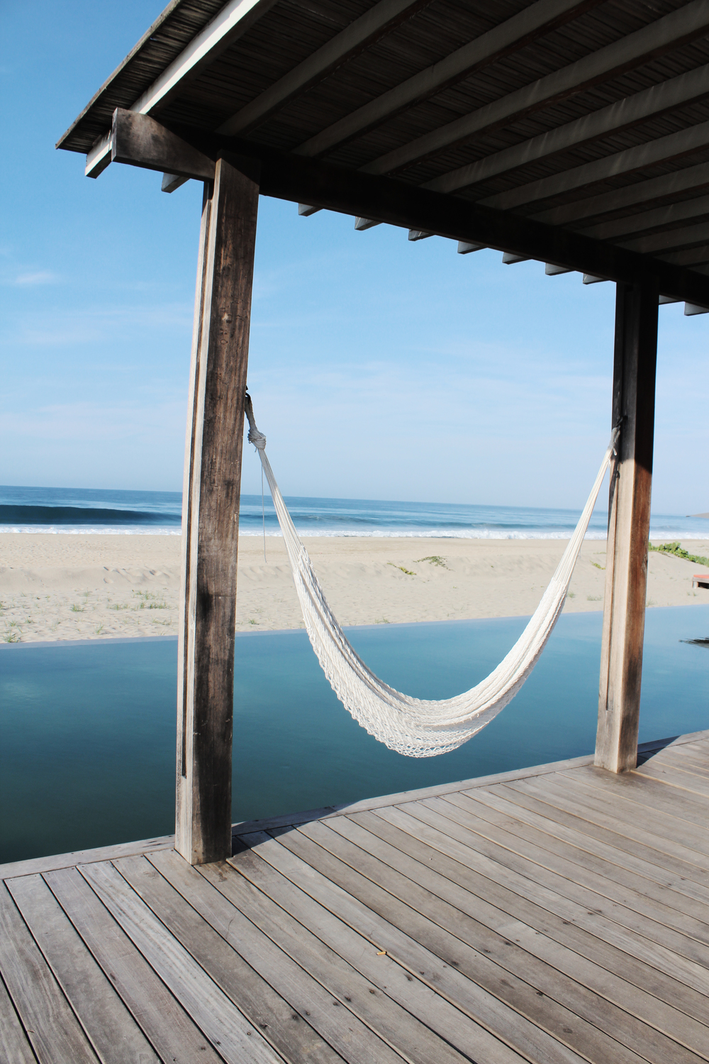hotel escondido pool luxury mexico wave provocateur hammock