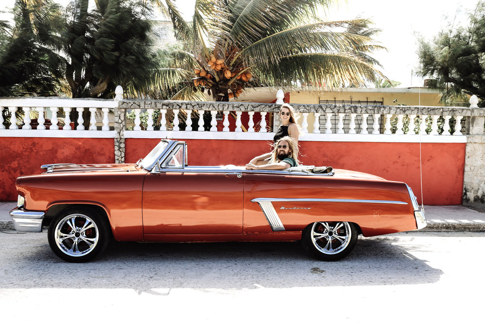 bree warren mitch mccain havana cuba cars the wave provocateur